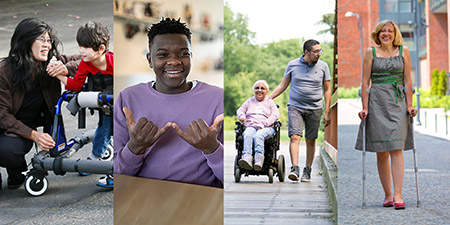 The COVID-19 Disability Survey will capture perspectives from Canadians with different types of disabilities and their family members.
