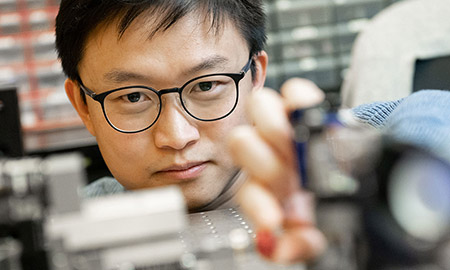 Isaac Li, assistant professor of chemistry, Irving K. Barber Faculty of Science.
