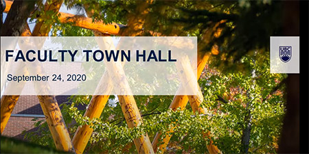 Faculty Town Hall cover image