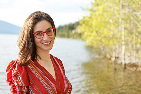 Shelly Ben-David, assistant professor at UBC Okanagan's School of Social Work, examines the early stages of psychosis in young people.
