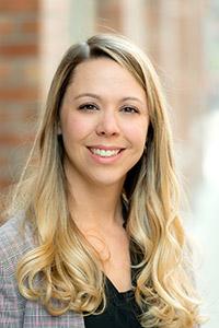 Sarah Dow-Fleisner, assistant professor of social work.