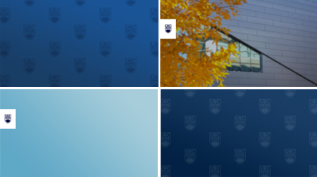 An example of a branded UBC zoom background