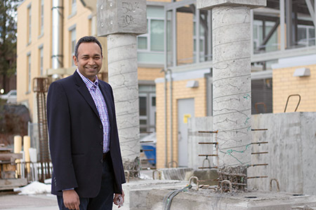 Shahria Alam, co-director of UBC's Green Construction Research and Training Centre and the lead investigator of the study.