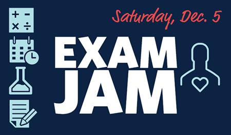 Exam Jam graphic
