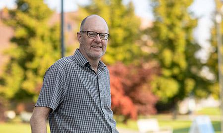 Peter Simpson, dean of the College of Graduate Studies.