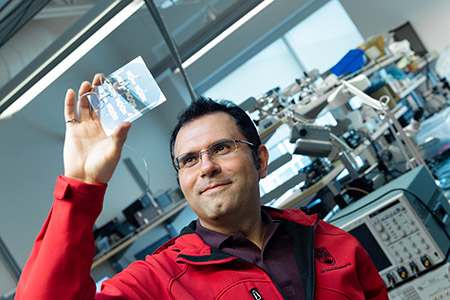 School of Engineering Assistant Professor Mohammad Zarifi has made significant improvements to the real-time sensors that monitor frost and ice build-up on airplanes and turbines.