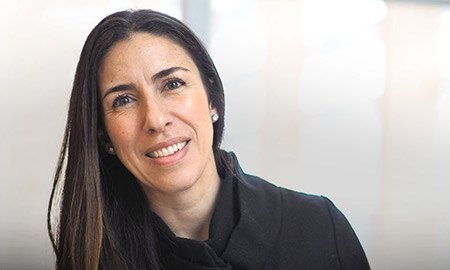 Dr. Barbara Oliveira, president of the UBC Okanagan Postdoctoral Association.