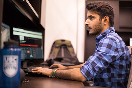 Image of co-op student working