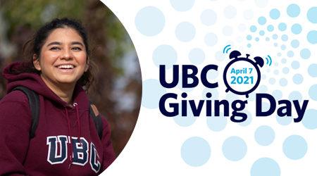 UBC Giving Day graphic