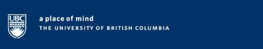 UBC Banner