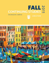 Continuing Studies Fall 2011 Calendar